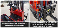 CPD1530 1500kg 4 Wheel Compact Electric Battery Operated Forklift