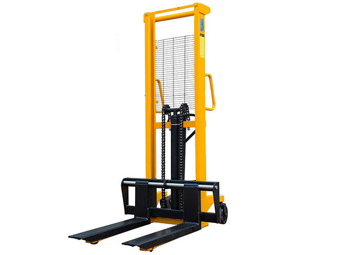 550mm 1 Stage Mast 2.5m Manual Hydraulic Pallet Lifter Truck