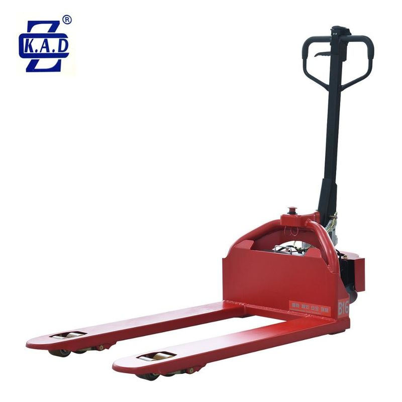 0.65kw 48V 15Ah Low Profile Electric Powered Lift Pallet Truck Jack