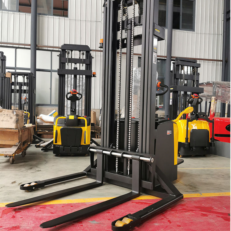 MOS Control Standing 2T 4.5m Walk Behind Pallet Lift Stacker